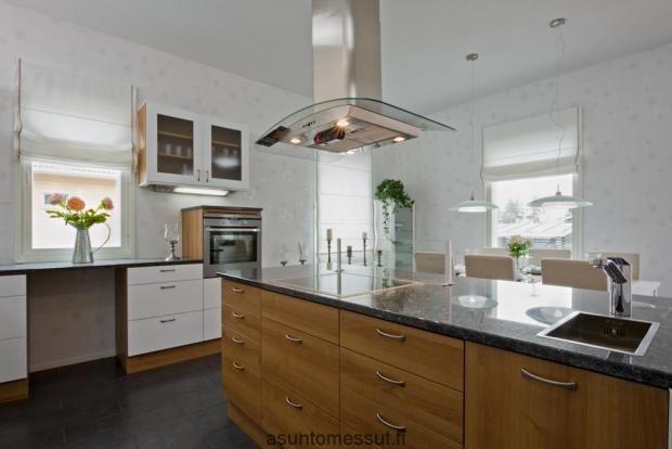 Omatalo Lehtorinne - keittiö | Asuntomessut