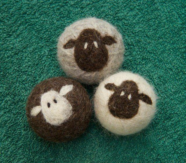 Sheepy Wool Dryer Balls (set of 3) From Lynn's Lids! #DECAF15