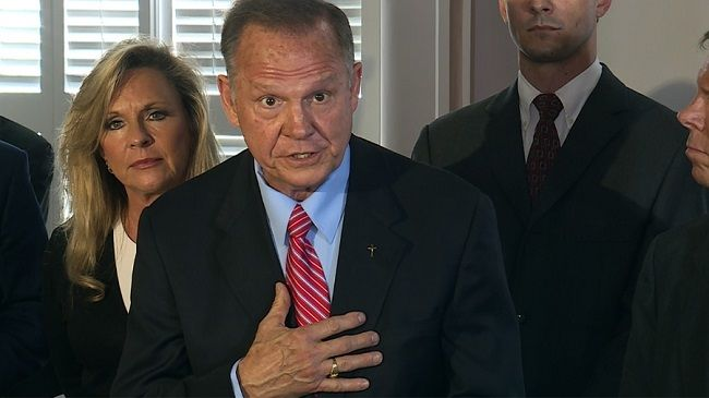 By: Paul Goldberg, Staff Writer    The now former Alabama Chief Justice Roy Moore, who was permanently suspended last year from his position for refusing to follow the U.S. Supreme Court's ruling on Same-Sex Marriage. Well he's back and has announced today Wednesday April 26, he is running for U.S. Senate for Alabama.