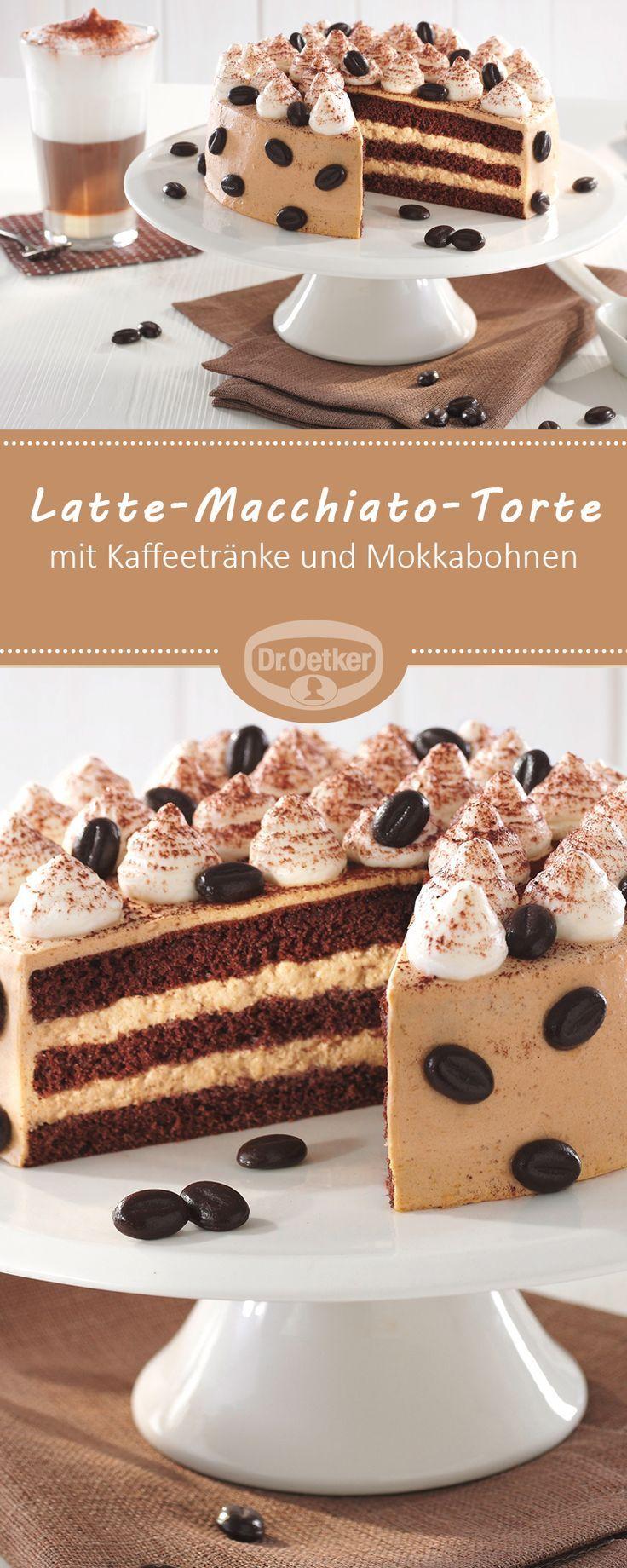 Kleine Latte Macchiato Torte Rezept Kuchen Torten Rezepte