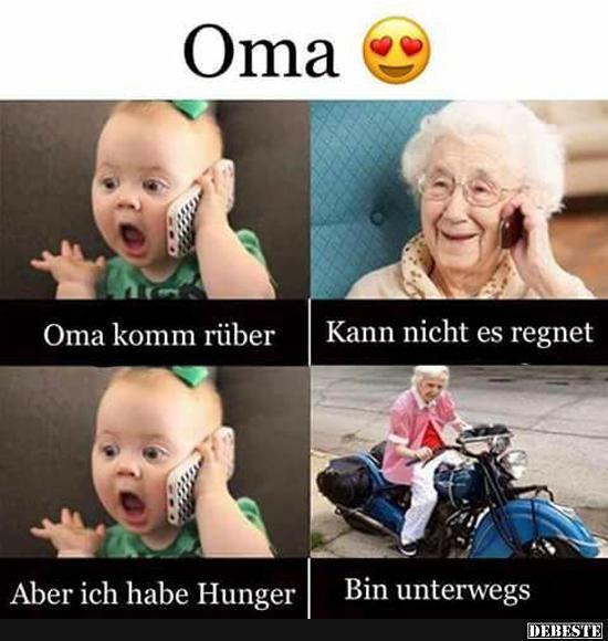 Oma..   Lustige Bilder, Sprüche, Witze, echt lustig