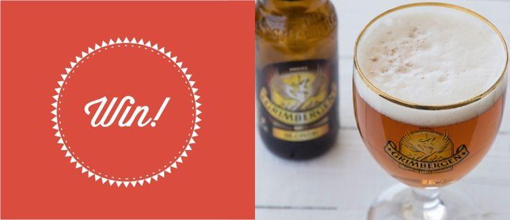 Διαγωνισμός με δώρο 5 κιβώτια Grimbergen Blonde