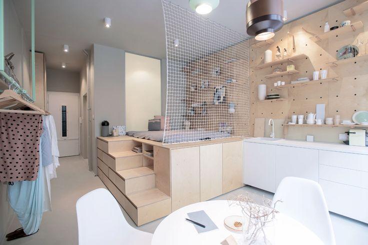 30 m² optimisés |MilK decoration