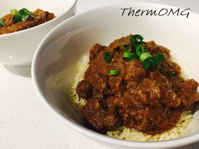 Thermomix Balinese beef curry