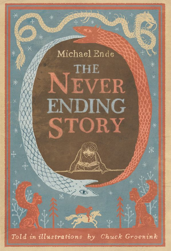 Never Ending Story Illustrations by Chuck Groenink
