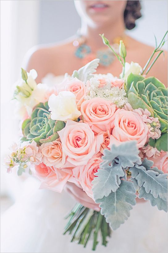 bridal colors 49 best wedding bouquets pastel images on 27748