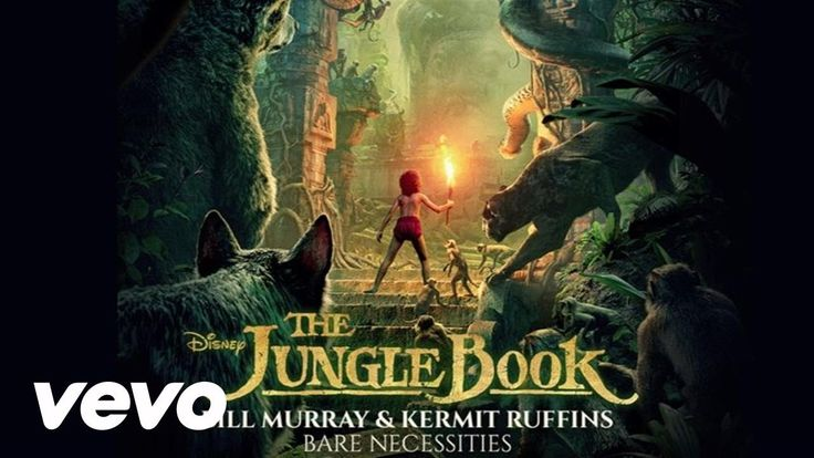 """Bill Murray, Kermit Ruffins - The Bare Necessities (From """"The Jungle Boo..."""