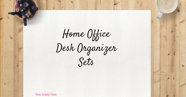 office desk organizer sets, home office, organize