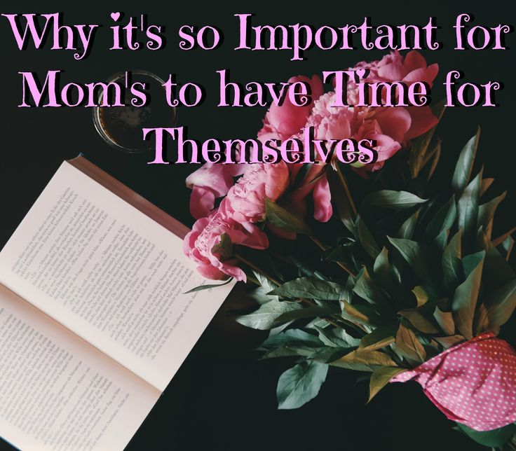 It is so important for mom's to take care of themselves in order to be the best version of themselves possible.