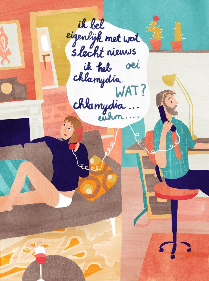 Charlie Magazine 'Soa's' - illustration by Agnes Loonstra