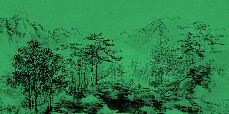 El Ecoarte es una corriente artística actual en defensa del medio ambiente. Pero la naturaleza ha sido un elemento central del arte chino desde hace siglos