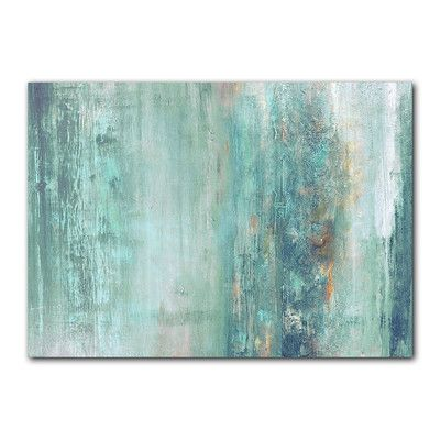 Ready2hangart 'Abstract Spa' by Alexis Bueno Painting Print on Canvas