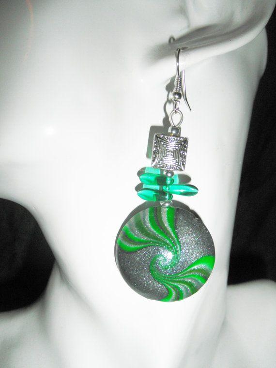 Orecchini cristallo perline gioielli di perline di HanDesignBeads