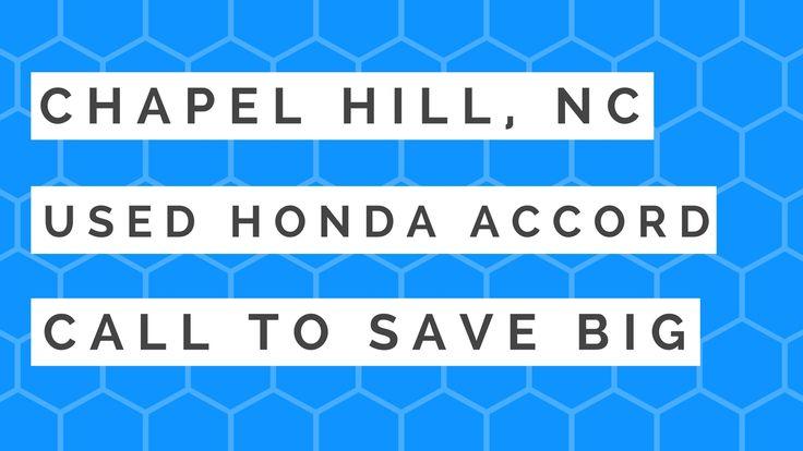honda accord touring chapel hill