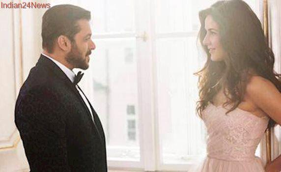 Tiger Zinda Hai first look: Salman Khan, Katrina Kaif romance once again, see pic
