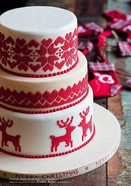 Cake Wrecks - Sunday Sweets: Your Holiday Happy Place - Christmas Sweater Cake