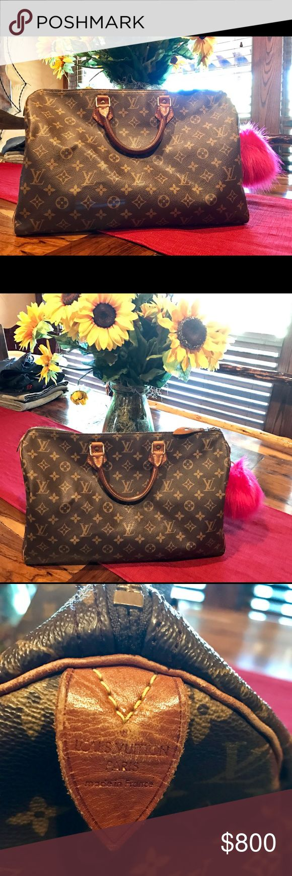 Louis Vuitton speedy 40 Used Louis Vuitton speedy 40.. Open to trade for another LV or Gucci. Louis Vuitton Bags