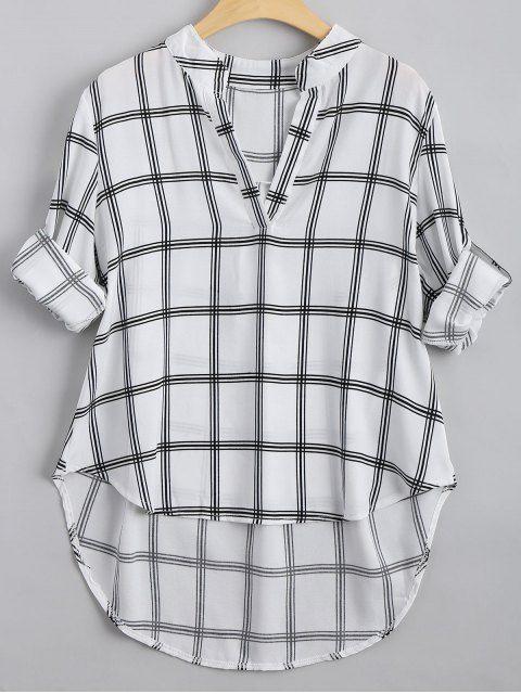 Cuello alto con cuello en V - Comprobado XL