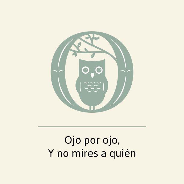 Ojo por ojo,Y no… #refraneroloco https://notegraphy.com/ijimenez/note/1395028…