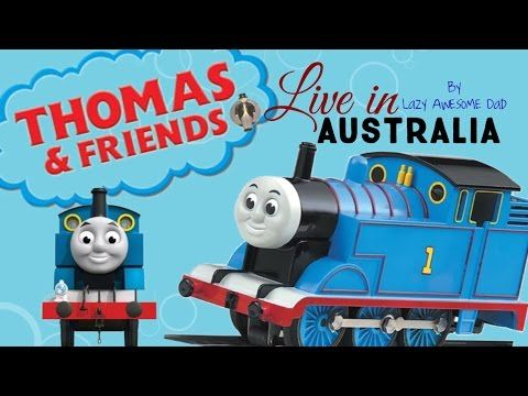Thomas & Friends LIVE Show Australia English - Thomas the tank engine steam train Episodes Story