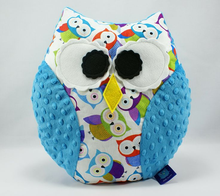 #owl #pillow #littlesophie #minky