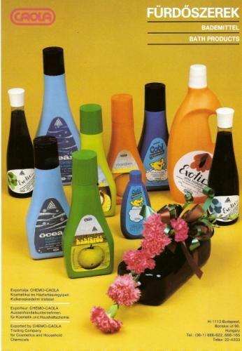 Caola fürdőszerek - imádtam a zöldalmás illatát