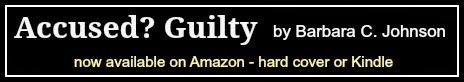 Political Truth Serum: Accused? Guilty by Barbara C. Johnson - Part 28  The explosive criminal trial begins.