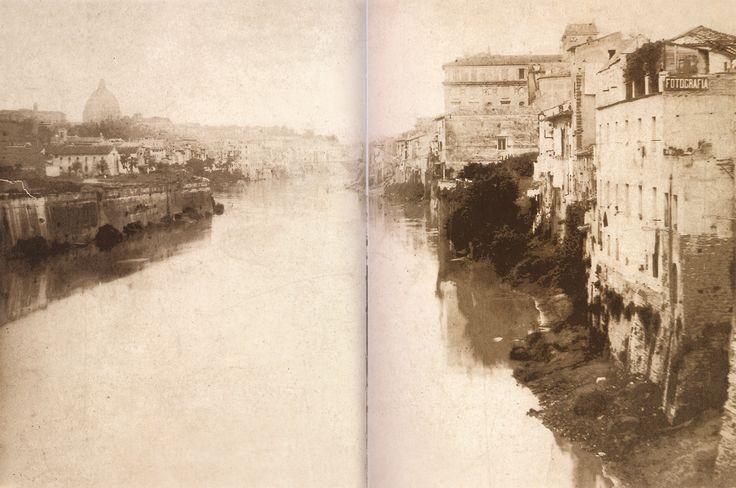 Ettore Roesler Franz. Tevere ante muraglione