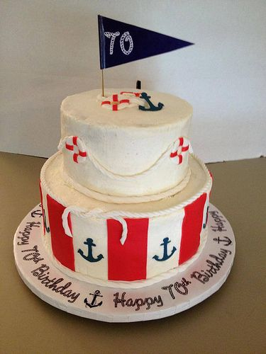 Nautical Cake Decorations Uk : The 25+ best Nautical birthday cakes ideas on Pinterest ...