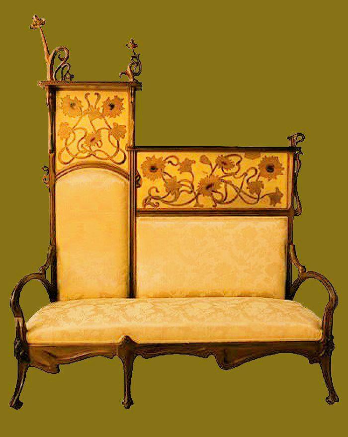les 1048 meilleures images du tableau art nouveau mobilier lampes miroirs affiches sur. Black Bedroom Furniture Sets. Home Design Ideas