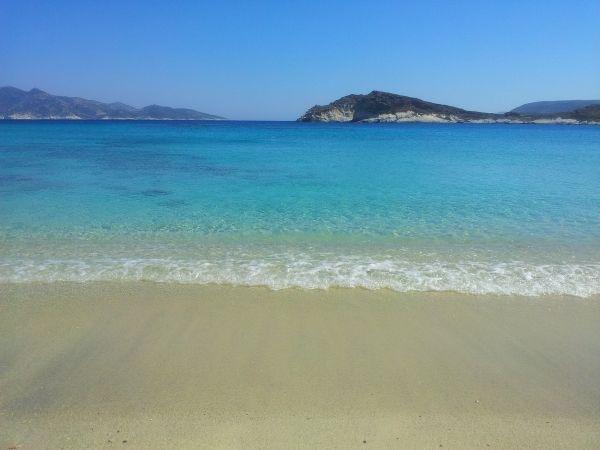 Wonderful beach in Kimolos, a tiny island of Greece