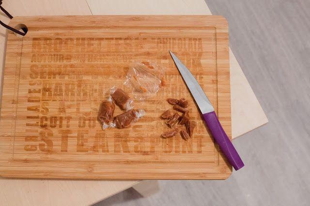 Parfois une planche à découper sympa peut donner envie de cuisiner ! Pauline des TwinsCook a choppé sa planche à découper en bambou pour 10€ chez BABOU !