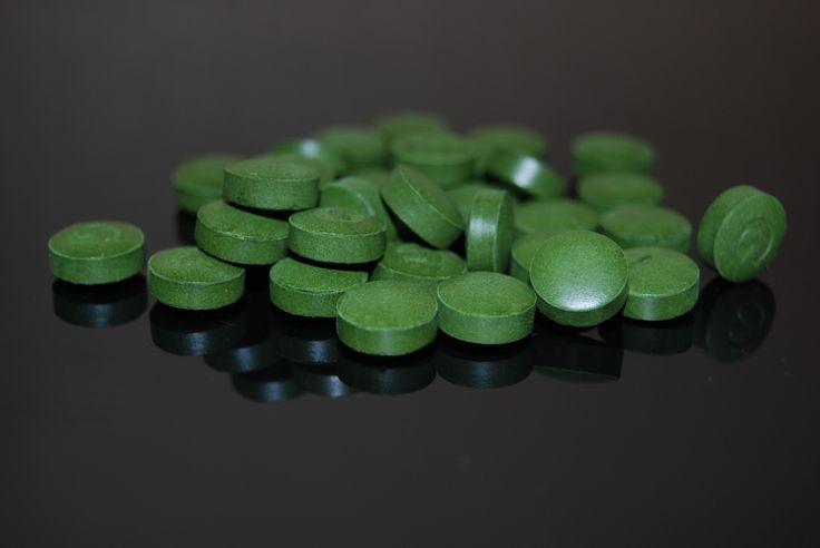 Chlorella pyrenoidossa - najbohatší zdroj chlorofylu na našej planéte.