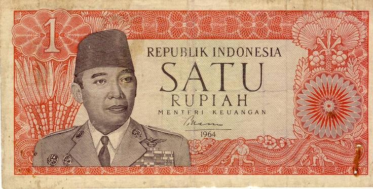 Soekarno – 1 Rupiah