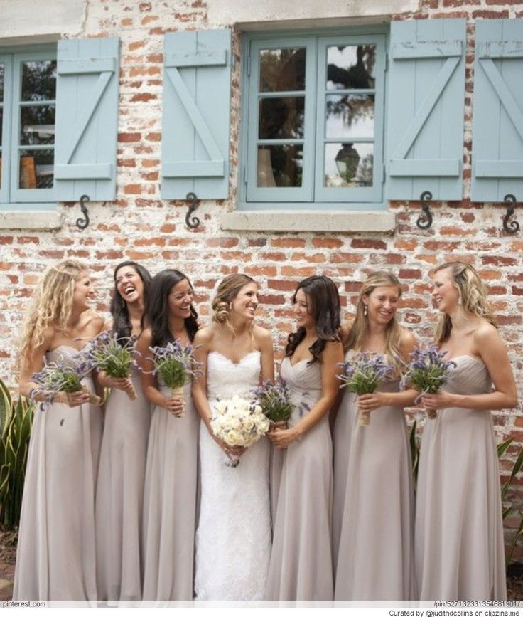 Love these dresses for my girls!!  Taupe Weddings