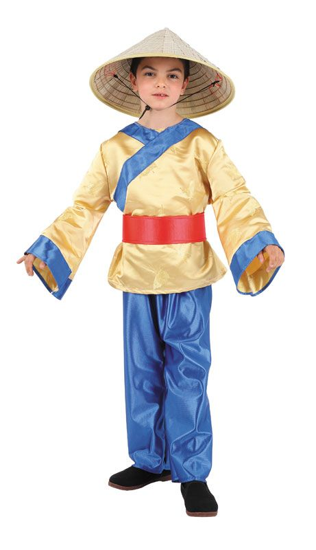 Disfraz de chino para ni os chinito disfraces para - Disfraces para navidad ninos ...
