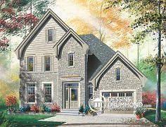 Plan de maison no. W3409 de dessinsdrummond.com
