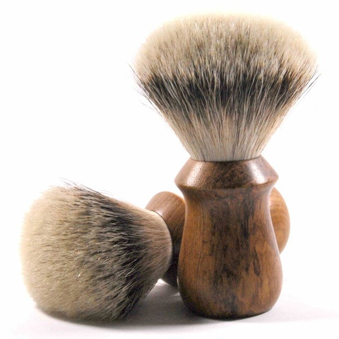Sam & Son Silver Tip is the most luxurious shaving brush available today.