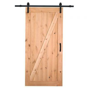 Knotty Pine Sliding Closet Doors