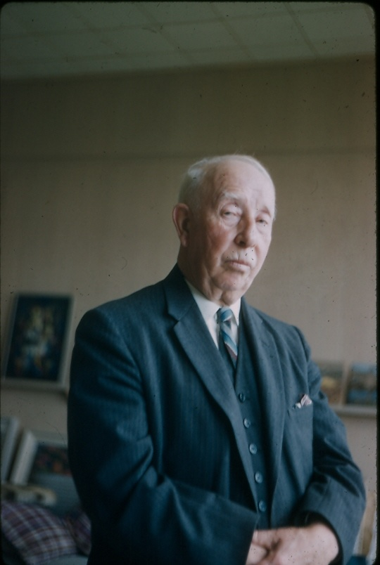 A.Y. Jackson in the 1950's