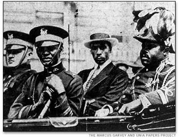 Marcus Garvey and other Universal Negro Improvement Association leaders on parade. The Marcus Garvey and UNIA Papers Project