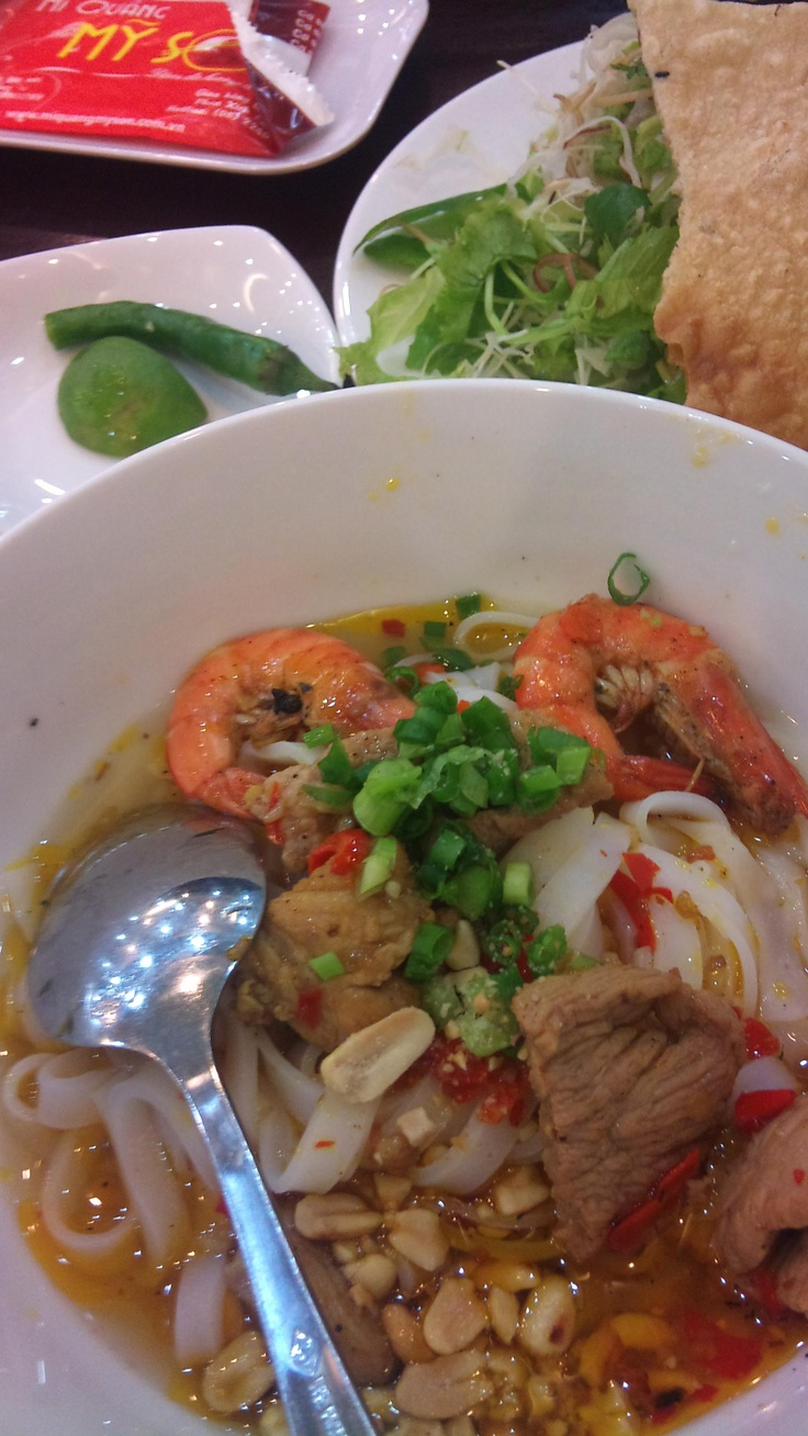 My Quang, a kind of noodle from Quang Nam Province of Vietnam.