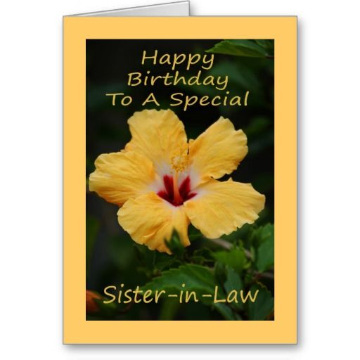 Happy Birthday To A Special Sister Quotes: 23 Best Images About Sister On Law On Pinterest