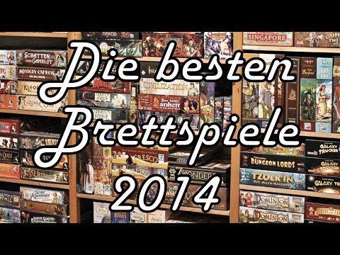Die besten Brettspiele 2014 - Unsere Top 3 des Brettspieljahrs nach Kategorie - YouTube