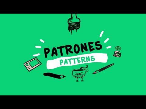 Creando patrones o patterns en Illustrator - YouTube