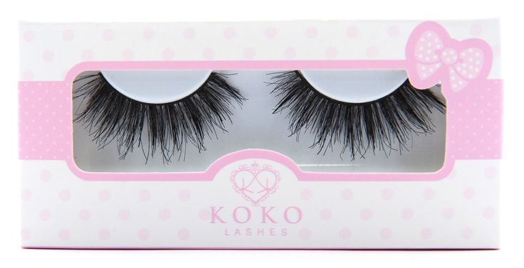 "Lady Moss Beauty - KoKo Lashes ""Queen B"", $7.99"