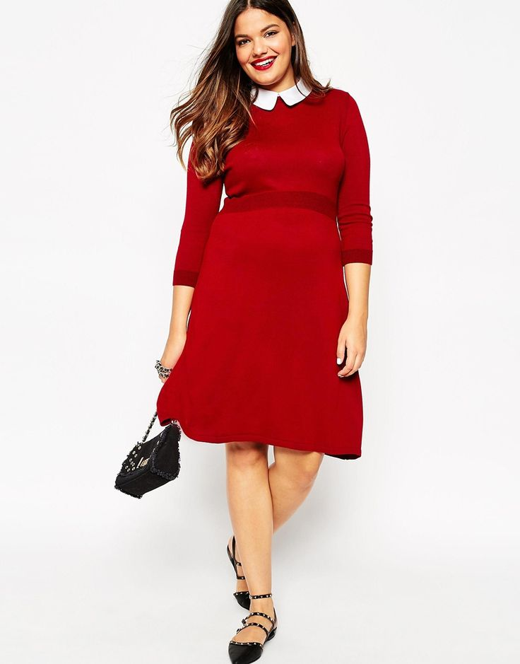 15 Cozy And Chic Plus Size Sweater Dresses To Wear Now