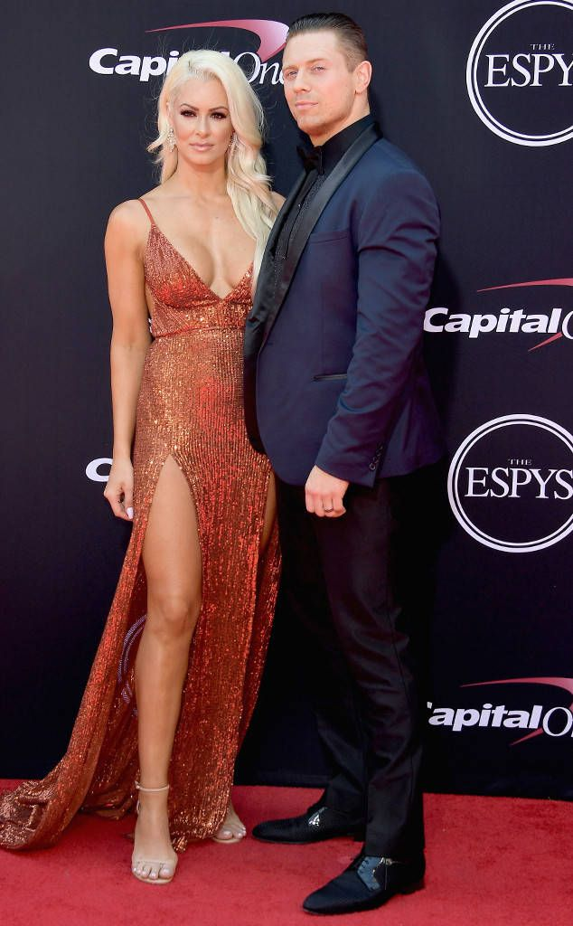 2017 ESPYS Awards - ESPYS 2017: RED CARPET ARRIVALS - MARYSE OUELLET & MICHAEL MIZANIN The Miz & Maryse have arrived repping hard for the professional wrestling world. ESPYS 2017: Red Carpet Arrivals | E! News