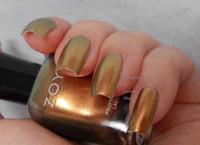 Lacquer or Leave Her!: Review: Zoya's Flair Fall 2015 collection: Zoya Aggie