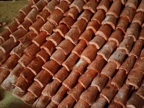 Tegole per presepe in cartone